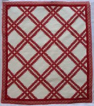 Image of 1985.36.1 - Quadruple Irish Chain Quilt