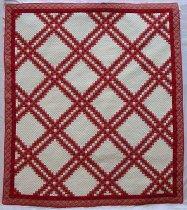 Image of Quadruple Irish Chain Quilt - Quilt, Bed