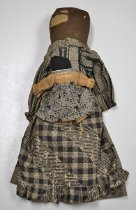 Image of African American mother and child dolls