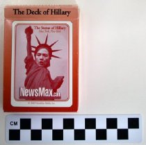 Image of 2006.157.1 - Hillary Clinton playing cards