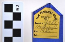 Image of Monroe County, KY Fair Ribbon (back detail)