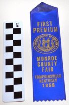 Image of KM2013.22.35 - Monroe County, KY Fair Ribbon