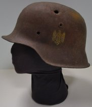 Image of KM2014.4.1 - WWII M1942 German helmet