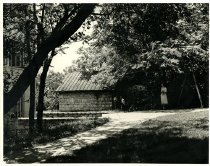 Image of Behind Cherry Hall - Graham, Nelson