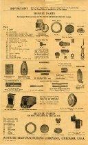 Image of Repair Parts [Carbide Lamps] -