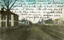 Image of Street and Railroad -