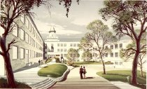 Image of Renovation of Cherry Hall  - Cain, Frank D., Jr., 1922-1994