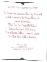 Image of City of Oakland Invitation to an oral history video