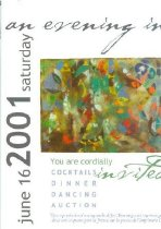 Image of An Evening in Shakertown invitation -