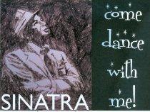"Image of Sinatra ""Come Dance With Me"" Invitation"