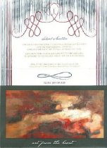Image of Art from the Heart invitation -