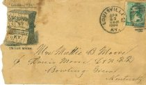 Image of S. P. Graham, Louisville, Ky. envelope. -