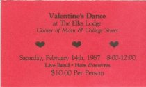 Image of Elks Valentine's Dance [ticket] -