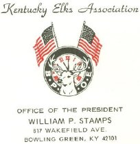 Image of Kentucky Elks Association [envelope] -