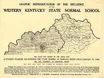 Image of Graphic Representation of the Influence of WKSNS - Western Kentucky University