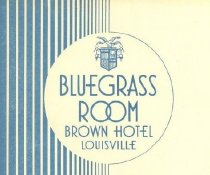 Image of Bluegrass Room Brown Hotel