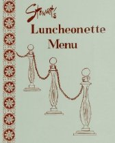 Image of Stewart's Luncheonette Menu
