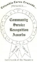 Image of Columbia Cares Crusade, Inc. presents Community Service Recognition Awards -