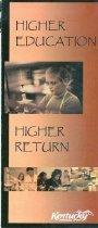 Image of Higher education, higher return [brochure] - Mudpuppy & Waterdog, Inc.