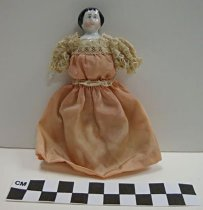 Image of China head doll - Doll