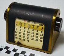 Image of Mechanical Date Finder Calendar - Calendar