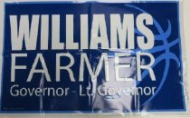 Image of Williams-Farmer Governor Lt. Governor -