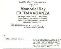 Image of Warren County Kiwanis Club, Bowling Green, Ky. [invoice] -