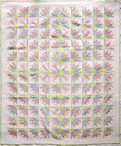 Image of KM2015.4.1 - Imperial Fan Quilt