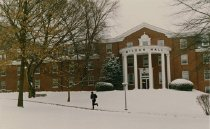 Image of McLean Hall in Winter - Unknown