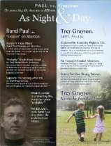 Image of Protecting life : Trey Grayson [political flier] -