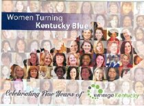 Image of Women turning Kentucky blue : celebrating five years of emerge Kentucky [invitation] -