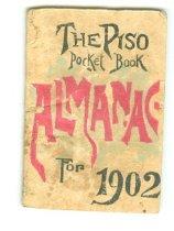 Image of Piso pocket book almanac for 1902 -