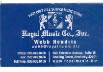 Image of Royal Music Company, Inc.