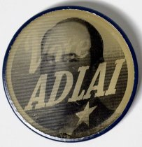 Image of 1971.1.129 - Vote Adlai Flasher Button