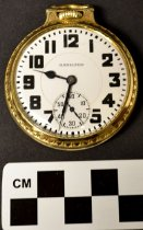 Image of KM2015.18.1 - Hamilton 922 pocket watch
