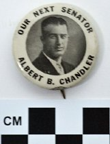 Image of 1983.43.213 - Chandler for U.S. Senator photo button