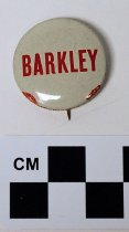 Image of Alben W. Barkley political button - Button, Political