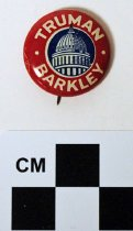 Image of Truman-Barkley political button - Button, Political