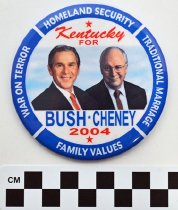 Image of 2005.72.4 - Bush Cheney political button