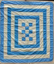 Image of Funeral Ribbon Quilt Top