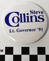 Image of 1991.56.48 - Steve Collins political button