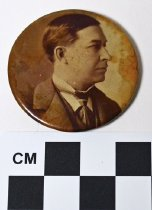 Image of William Goebel photo button - Button, Political
