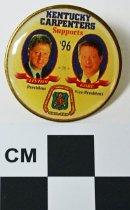 Image of 2004.2.26 - Clinton/Gore photo tie tack