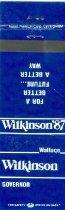 Image of Wallace G. Wilkinson Governor [matchbook] -