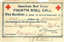 Image of American Red Cross Fourth Roll Call