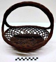 Image of 1986.68.6 - Wicker Basket