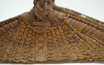 Image of Fireside basket  (detail of wrapping)