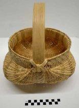 Image of 1987.112.1 - White oak basket