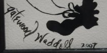 Image of Alice Gatewood Waddell's artist's signature
