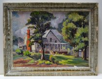 Image of 1975.138.1 - Painting of the First King House - Cheek House